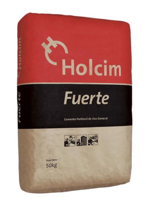 Cemento Holcim x 50 Kg.