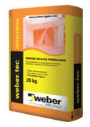 Weber Tec Refractario x 20 Kg