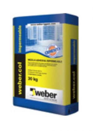 Weber. Col Impermeable con ceresita x 30 Kg