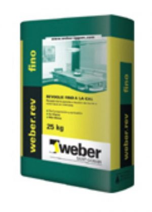 Weber.rev fino (interior) x 25 Kg.