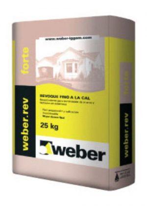 Weber.rev forte (exterior) x 25 Kg.