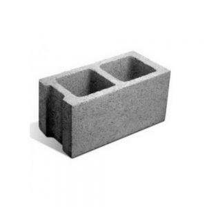 bloque de hormigon milan block - muros (liso) p20 pc 19x39x19