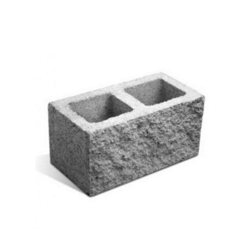 bloque de hormigon milan block split clas. gris p20 spt 19x39x19