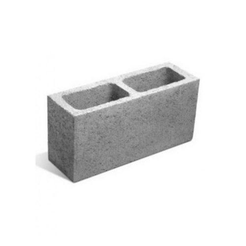 milan block - muros (liso) p13 12.8x39x19