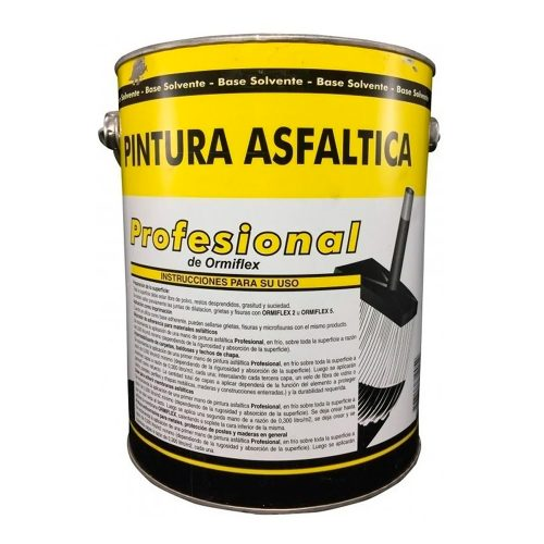 pintura asfaltica profesional de ormiflex x 18 lts