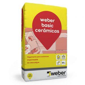 weber basic cerámicas (linea economica) x 30 kg