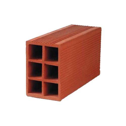 ladrillo hueco 12x18x33 - 6 agujeros