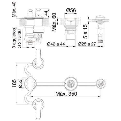 Planos - FV Epuyen GF 0295-L2-CR Bidet