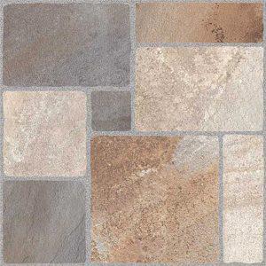 cerámica sahara piedra tricolor45x45. caja de 2.025m2