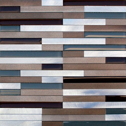 Misiones Deco - Lund Alum Strips Beige 30x30 PAL2010