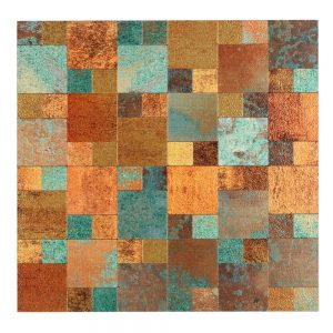 Misiones Deco - Sater Rusty 30x30 PAL1504