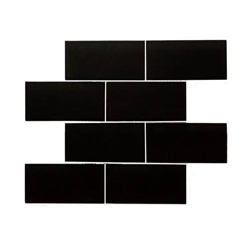 Misiones Deco - Subway Black 30x30 6V6014